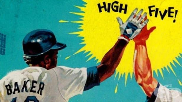 """Невероятната история зад жеста """"дай пет"""" или """"високо пет"""" - изображение"""