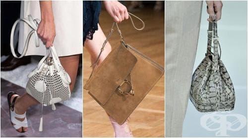 25 дизайнерски дамски чанти, които дефинират модните тенденции на Пролет 2015 - изображение