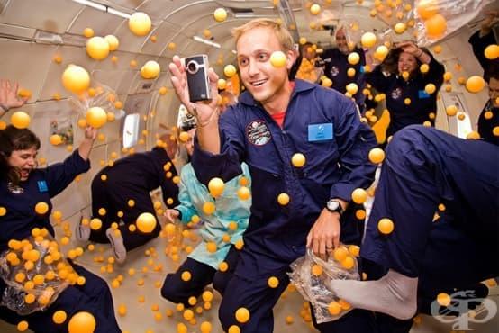 Как протича всекидневният живот на астронавтите в космоса - изображение