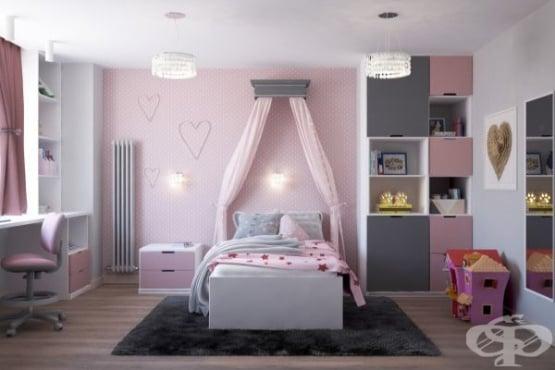 Как да декорираме детска стая за момиченце - изображение