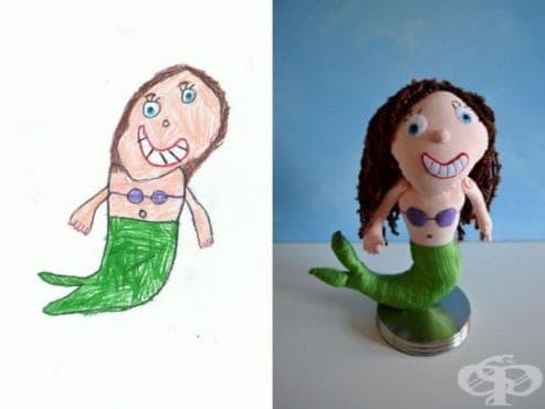 Художничка превръща персонажи от детски рисунки в плюшени играчки (галерия) - изображение