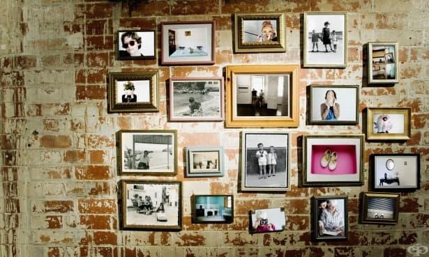 Домашна галерия за модерен интериор - изображение