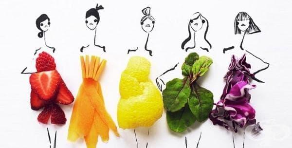 Играта с храната никога не е била по-шик от тази в долните илюстрации (галерия) - изображение