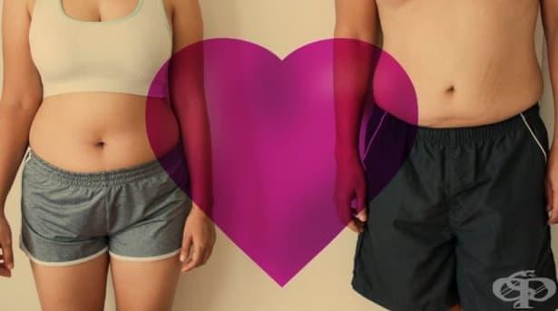 Романтичните връзки водят до повишаване на теглото, гласи ново проучване - изображение