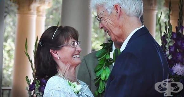 Американска двойка сключва брак след 50-годишна раздяла - изображение