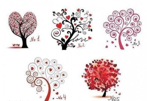 Дървото на любовта – визуално-психологически тест - изображение