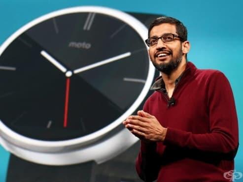 Отблизо: Ежедневните навици на изпълнителния директор на Google Сундар Пичай - изображение