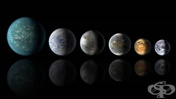 Седемте най-екстремни планети, открити в космоса - изображение