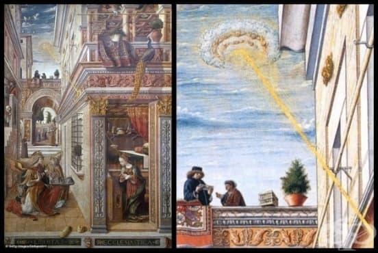 10 мистериозни древни картини, които ще ви накарат да се замислите дали НЛО наистина съществуват - I част - изображение