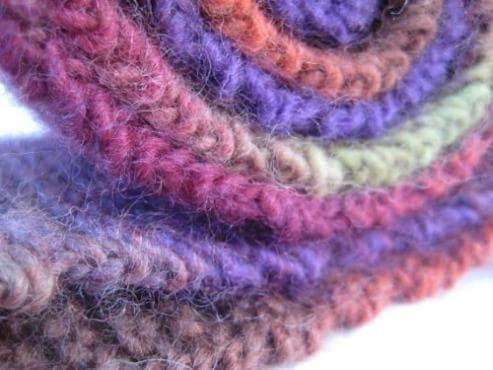 40 оригинални ръчно плетени шалове за есента и зимата - изображение