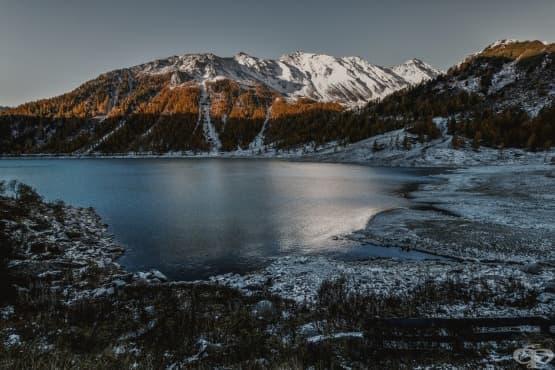 Красота и потенциално бедствие: езерото Ейбрахам  - изображение
