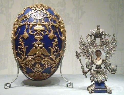Къде може да видите знаменитите великденски яйца на Фаберже - изображение