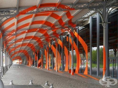 Вижте новите мащабни геометрични илюзии на Фелис Варини в Париж  - изображение