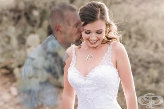 Дори и след смъртта: момиче публикува снимки на несъстоялата си сватба - изображение