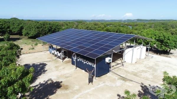 Кения инсталира първата слънчева инсталация, която трансформира океанската вода в питейна - изображение