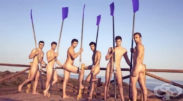 Календарът на голите гребци - изображение