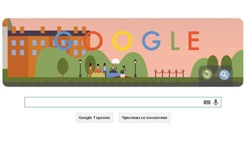 Google чества Andre Jacques Garnerin и 216 години от първия скок с парашут, извършен от човек - изображение