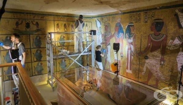 Гробницата на Тутанкамон - реставрирана за  бъдещите поколения - изображение