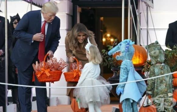 Таласъми и призраци – гостите в Белия дом по случай Хелоуин - изображение