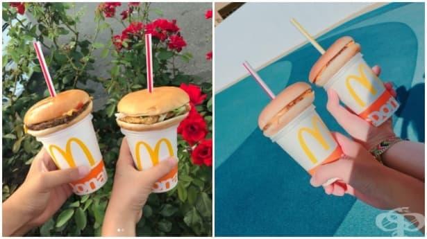 ХИТ: Хамбургер сламка е най-новата тенденция в Япония - изображение