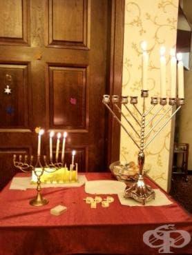 Израелският посланик в България запали в Стара Загора третата свещ за Ханука - изображение
