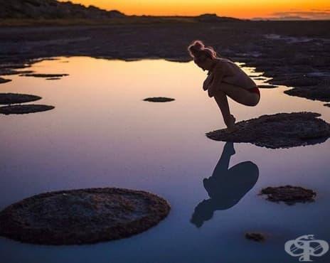 Хармония и ум: Млада жена преодолява психическо разстройство с йога - изображение