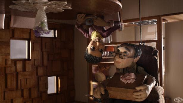 """Любовта преобръща светове с краката нагоре и обратно в номинирания за Оскар късометражен филм """"Обезумели"""" - изображение"""