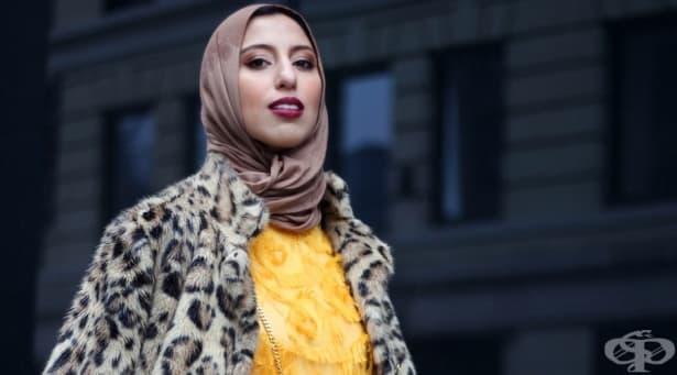 Хиджаб и мода -  как една жена променя традиционната забрадка - изображение