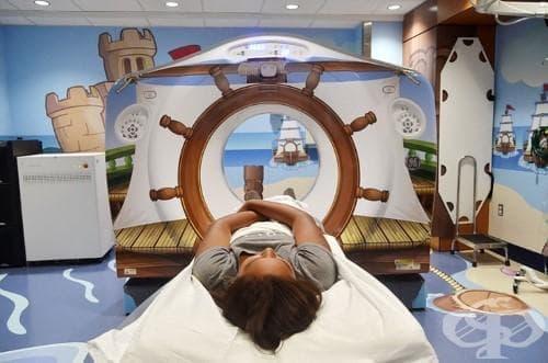 В тази болница са намерили възхитителен начин да предразположат болните деца за изследването с ЯМР - изображение