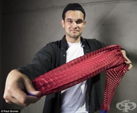 Нова мода:  Инженер създаде дрехи, които растат заедно с децата ви - изображение
