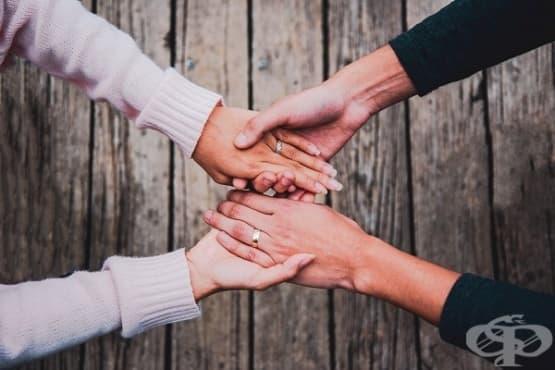 Интимните жестове или десет стъпки към интимността - изображение