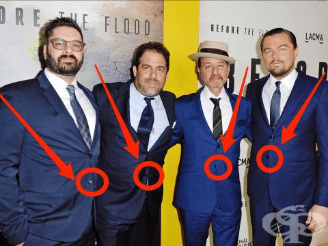 Защо мъжете не трябва да закопчават последното копче на сакото си? - изображение