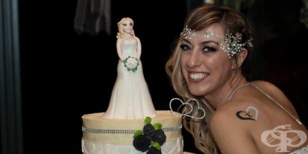 Италианка се ожени за себе си, за да докаже, че приказката без принц е възможна - изображение