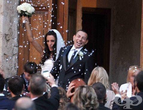 Ивет Лалова и Симоне Колио се венчаха в Италия - изображение
