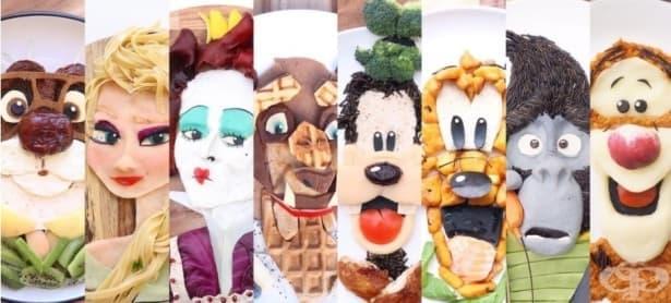 Изкуство в чиния: Как научих детето си да се храни здравословно - изображение