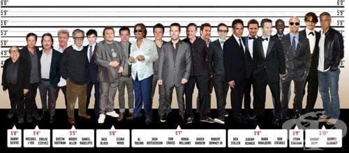 20 знаменитости от мъжки пол, за чийто нисък ръст може би не сте подозирали - изображение