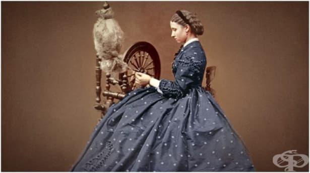 Винтидж супермодели: роклите на 19-ти век - изображение
