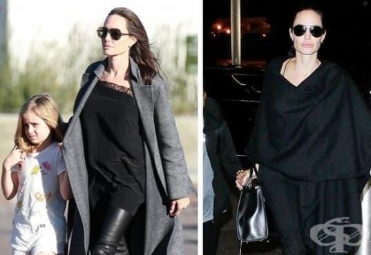 Какво обличат знаменитостите, когато се разхождат и пазаруват - изображение