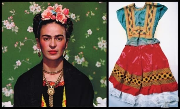 Скритият гардероб на Фрида Кало изложен след почти 50 години - изображение