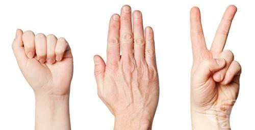 """Научете децата си винаги да печелят на """"камък-ножица-хартия"""" - изображение"""