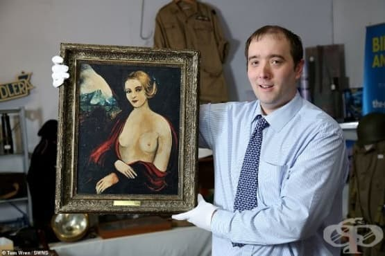 "Картината ""Грешната мадона с големите бомби""  - продадена за 15 000 долара - изображение"