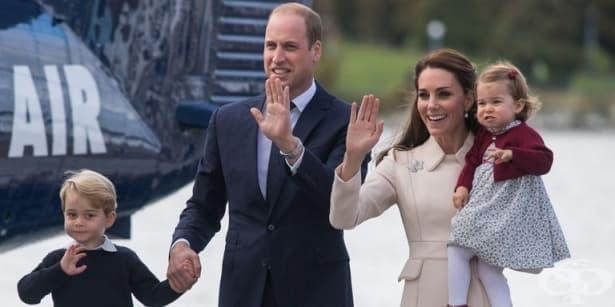 Херцогинята на Кеймбридж Кейт Мидълтън роди син - изображение