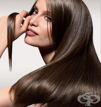 Кератинова терапия за изправяне на косата - изображение