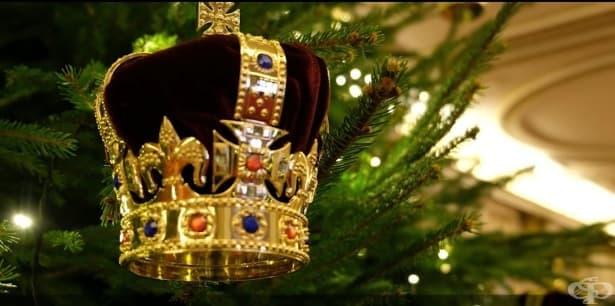 Коледна приказка в Бъкингамския дворец  - изображение