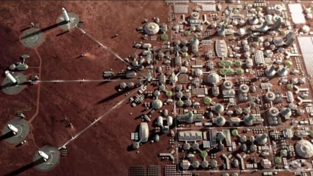 Илън Мъск разкри грандиозния си план за колонизиране на Марс - изображение