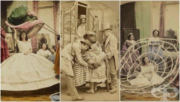 История на кринолина – опасната викторианска дреха, която убива хиляди жени - изображение