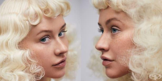 С лунички и без грим – Кристина Агилера и нейната трансформация - изображение