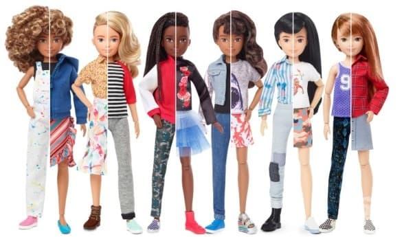 Производителите на Барби пускат на пазара първата полово неутрална кукла - изображение