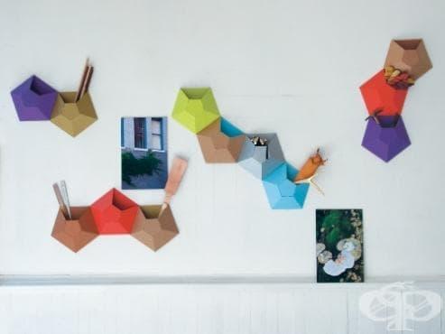 Направете дома си по-щастлив и весел с екологичните кутии за стена на Wallpockets - изображение