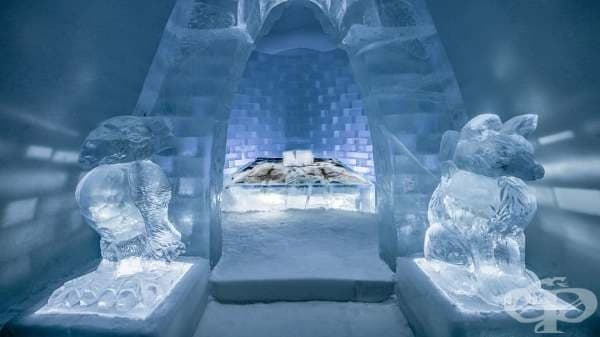 Леден хотел отвори врати в Швеция - изображение